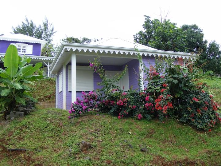 Petite maison créole proche plage