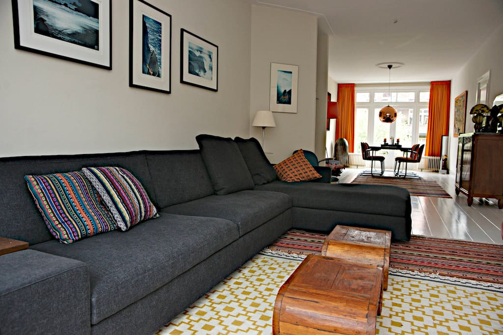 Lovely couch in living room
