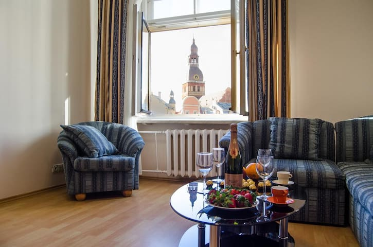 """City Inn Riga Apartment """"Town Towers with parking"""""""