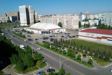 Cozy apartment in Kazan (Azino)
