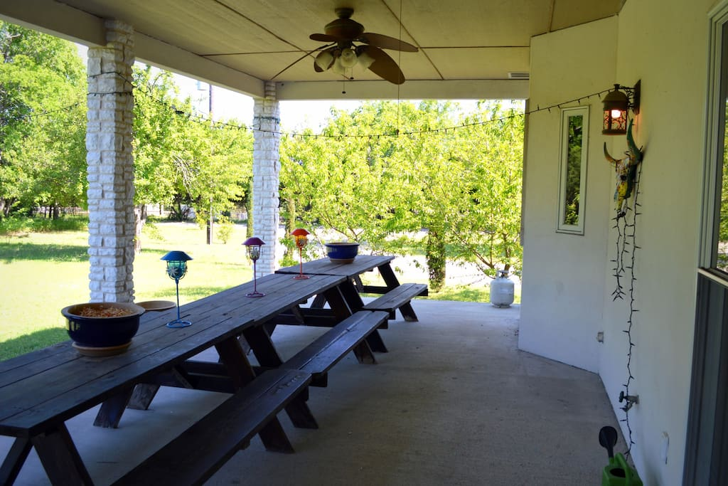Back Porch/ Picnic area