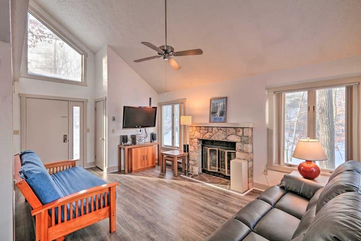 NEW! Jack Frost Ski Resort Townhome w/ Fireplace!