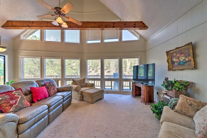 NEW! Alto Escape w/ Loft ~ 12 Miles to Ski Apache!