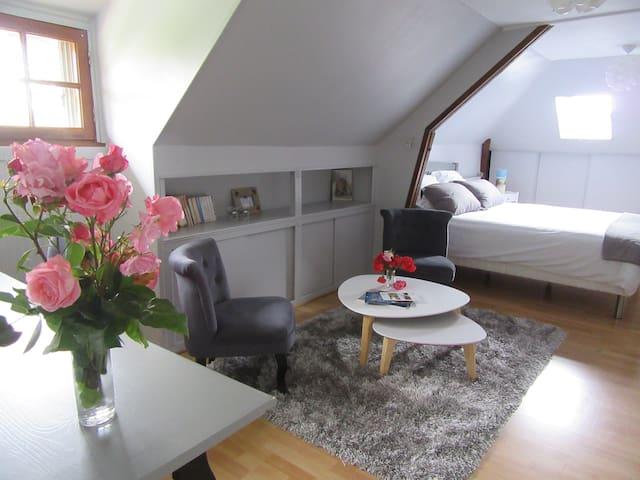 Chambre au calme proche du centre ville - Vendôme - Huis