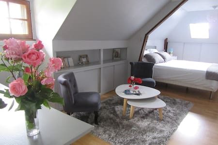 Chambre au calme proche du centre ville - Vendôme