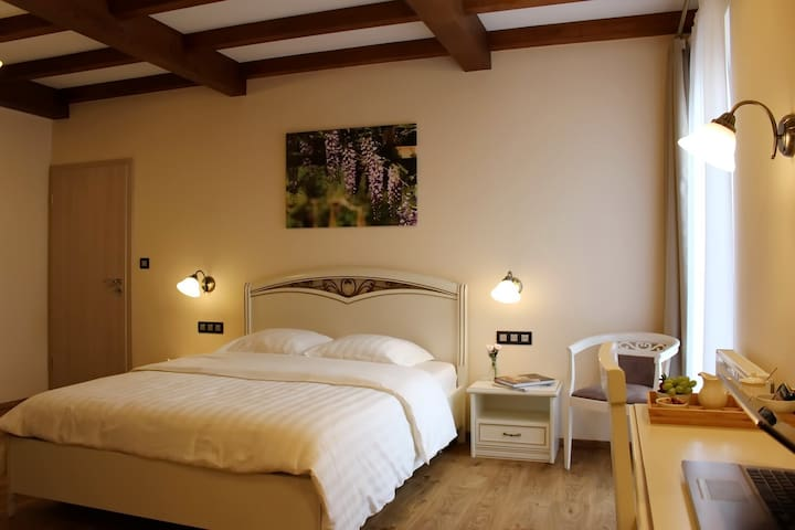 Spacious Romantic Room in a luxury Bed&Breakfast