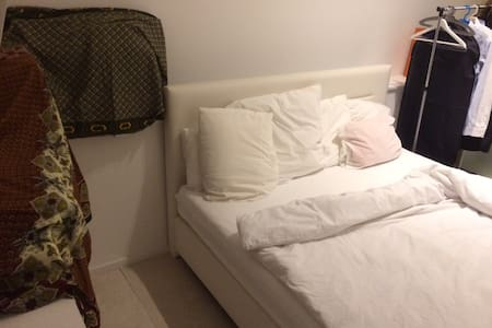 Nice room with queen size bed - Differdange - Lejlighed