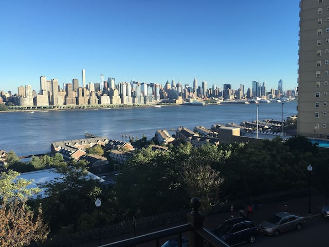 Amazing NYC view 20 Minutes away from City - Guttenberg - Leilighet