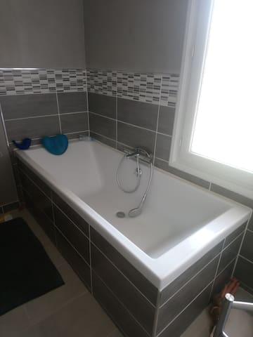 Bain dans votre salle de bain