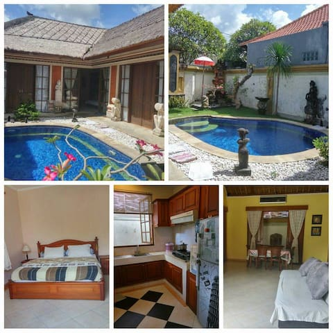 Alang-alang Villa 3 Bedroom Sanur Denpasar Bali - Denpasar Selatan - Villa