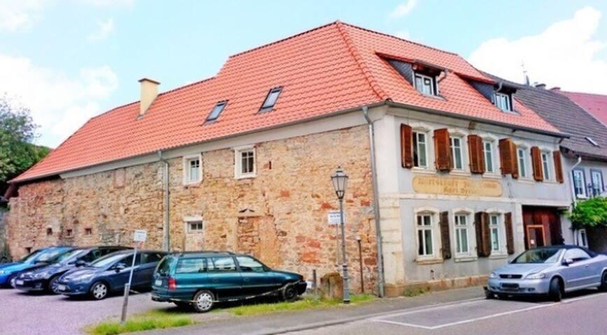 Denkmalgeschütztes, 400 J. altes Haus mit Charme - Klingenmünster - Hus