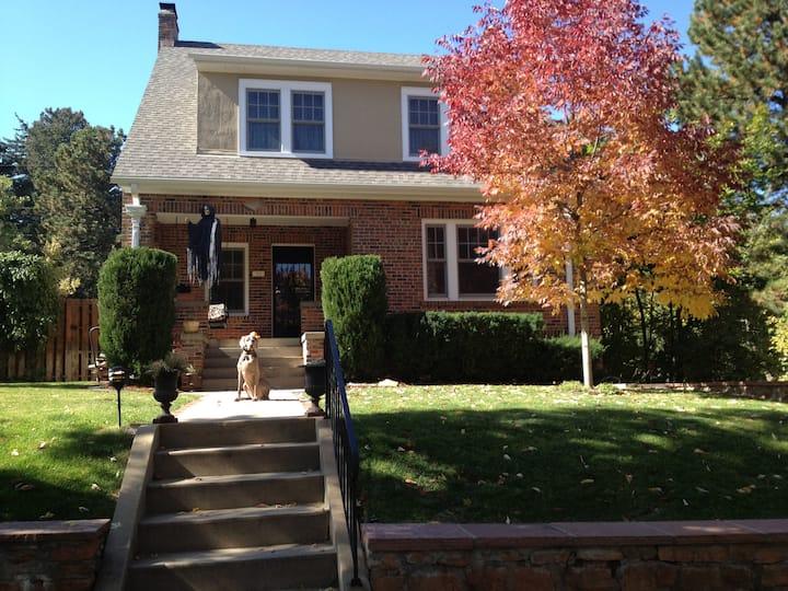 Cozy Historic home/district Chautauqua Univ Hill