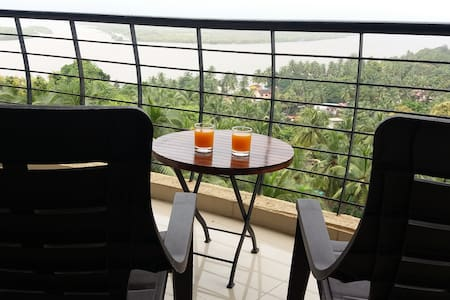 River facing 2bhk apartment Ribander panaji goaoa