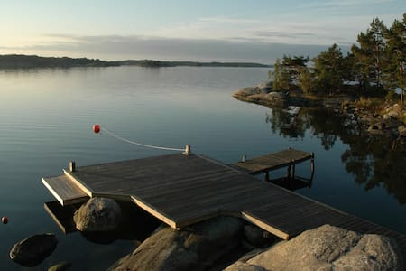 Charming house in the Stockholm archipelago.