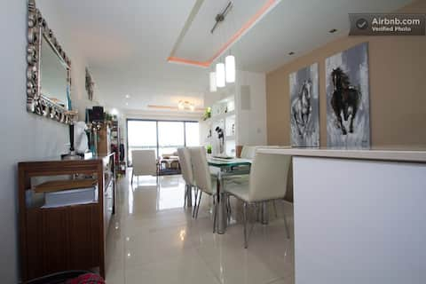 Rooms in Central Sea Front Apartment. Room 3
