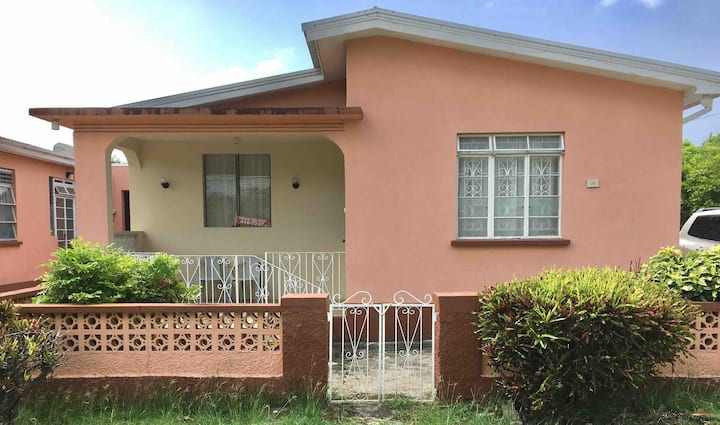 An authentic Barbadian home