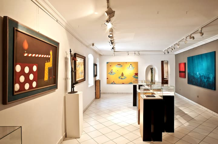 Local artists' works