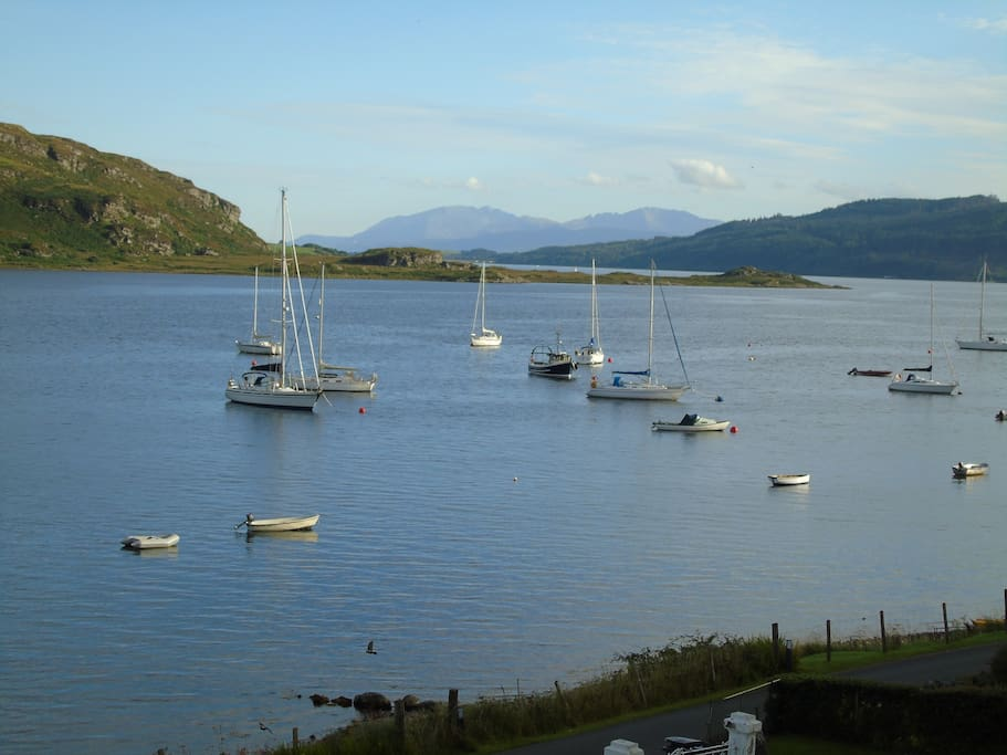 View from house of Arran to south