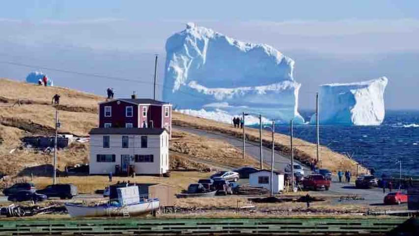 The Ferryland Red House