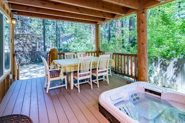 Two-Deck Cabin on Forest Land