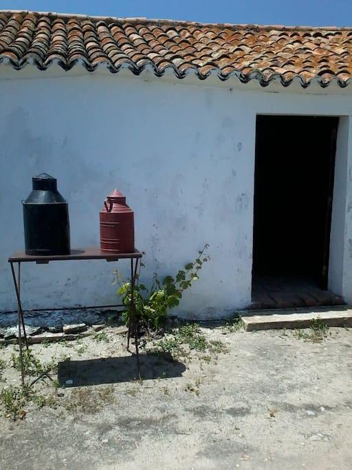 """Entrada da 2ºcasa, casa da ponta """"Monte dos Cantos"""""""