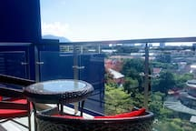 Private balcony with wonderful view