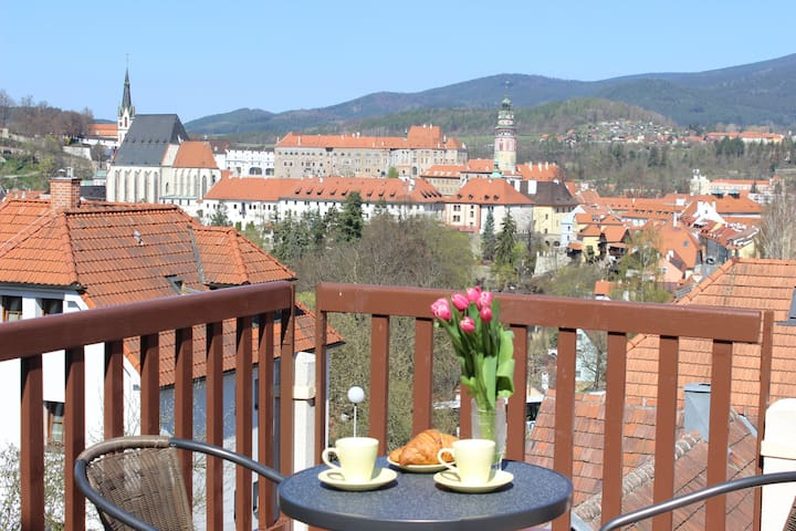 Apartment with a wiew of the city - Český Krumlov - House