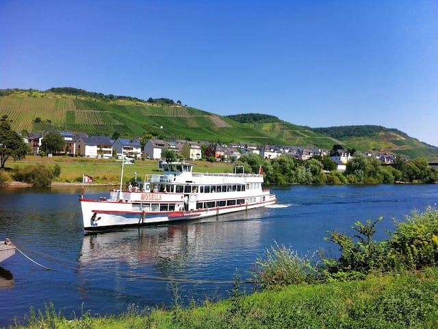 Janas Moselhäuschen in St. Aldegund, Mosel - Sankt Aldegund
