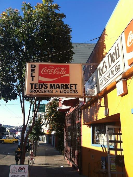 SoMa semtinde Ted's Market adlı yerin fotoğrafı