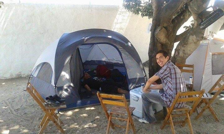 Acampar en Melaque cómodo y seguro