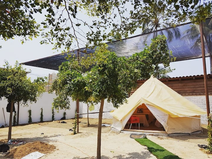 Luxury Glamping en la playa de Melaque Jalisco