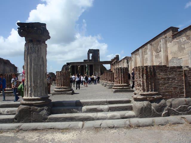 Foto panoramica: Pompei