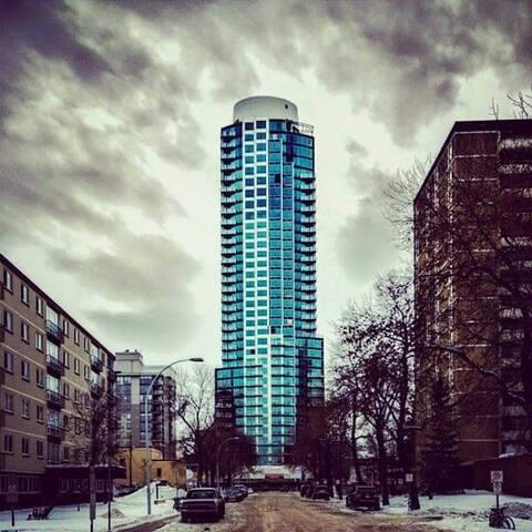 New luxury downtown condo - Edmonton - Apartment
