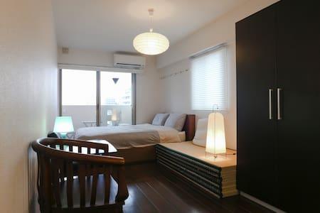 KYT ShijoKarasuma #2: APT 33sqm2bike&wifi - Kyōto-shi - Appartement