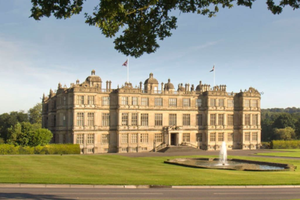 Longleat house is a great  family day out only a  ten minute drive or an enjoyable cycle.