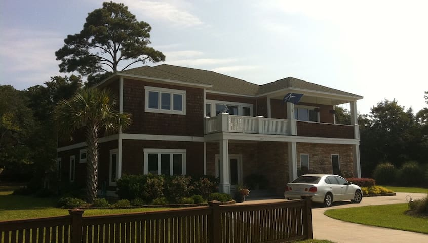 ICW view Home - Wells Fargo Eagle Point Golf - Wilmington - Rumah