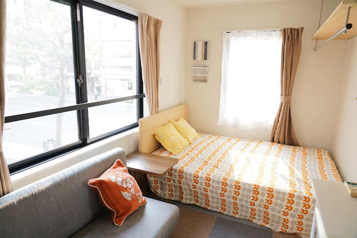 New!3min walk near station, UenoPark#Wifi #201