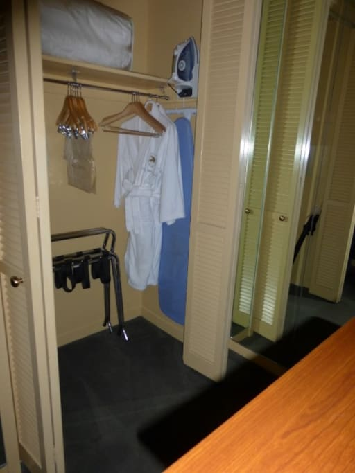 Closet, Robes, Safe Deposit Box