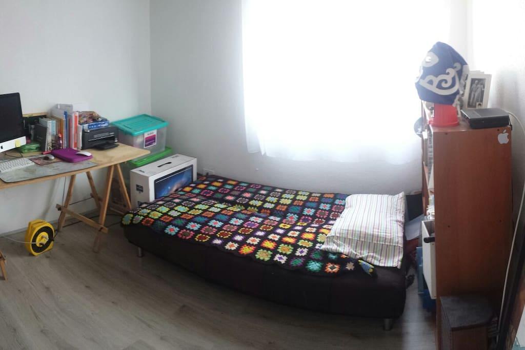 Dormitorio individual para 1 persona