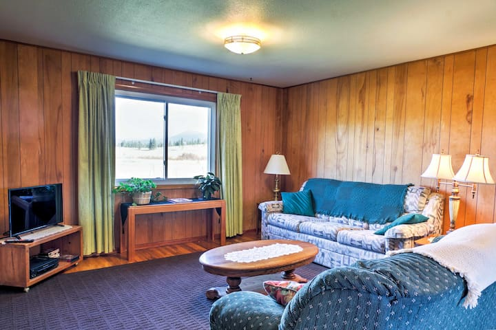 Quiet & Cozy 3BR McCall Area Home w/360 Mtn Views!