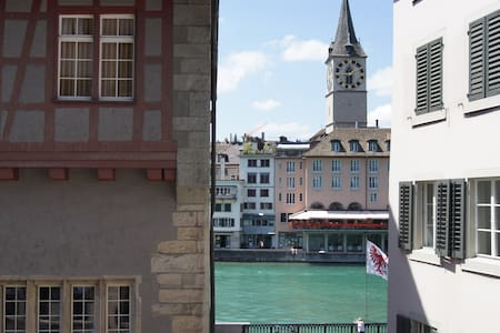 Neu: Traumhafte Aussicht auf die Altstadt ! - チューリッヒ