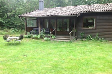 Charmig stuga mitt i naturen - Dalby