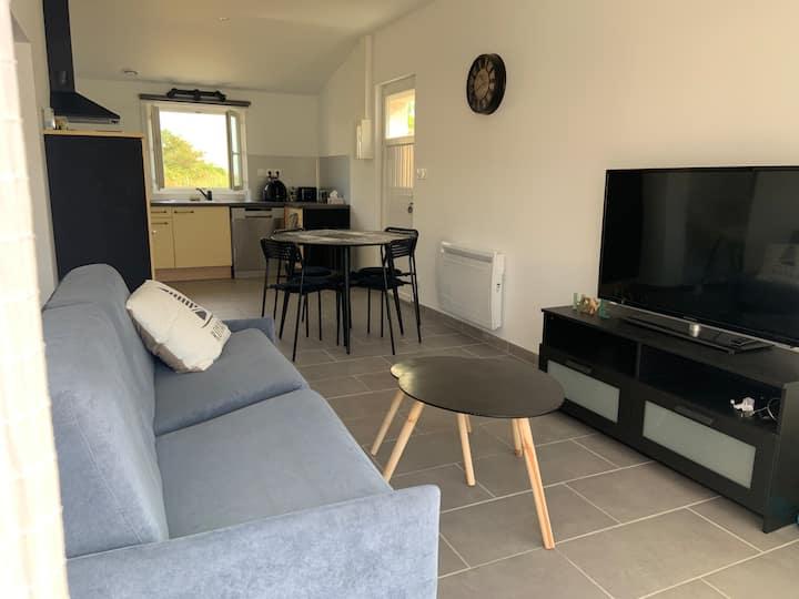 Logement neuf de 50 m2 indépendant avec jardin