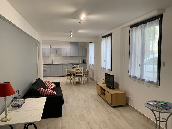 Charmant appartement en coeur de village