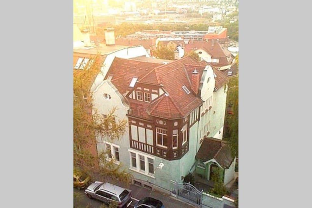 The Jugendstil house from 1905.