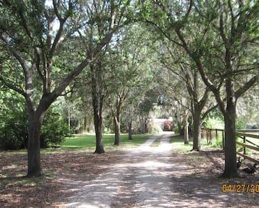 Seven Oaks On The Orange River Buckingham Florida - Fort Myers - 自然小屋