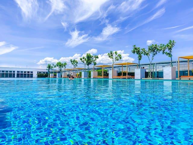 #2A| 2BR Suite @ Sutera Avenue KK w/Infinity Pool
