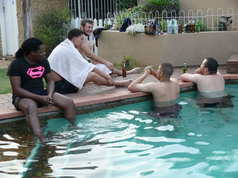 Swimming pool available by arrangement