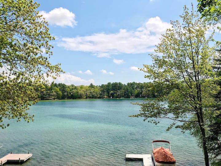 Wistful Vista on Beautiful Stratton Lake