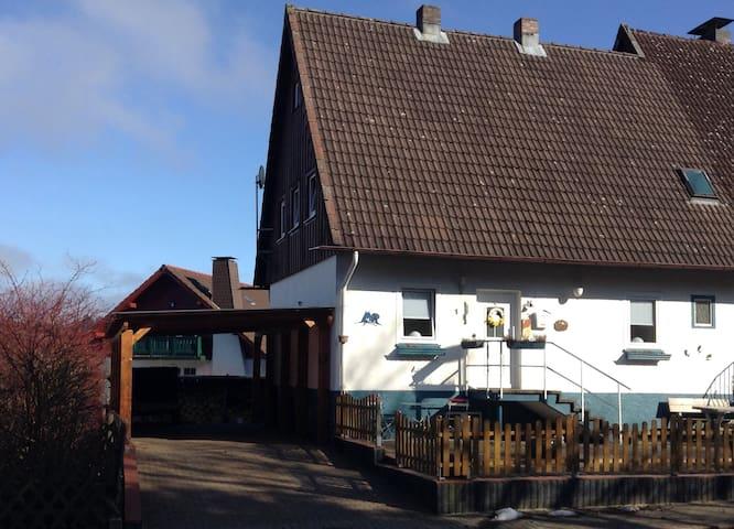 Ferienhaus Zimmermann - Schulenberg im Oberharz - Huis